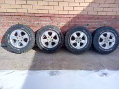 Продам колеса BFG KM2 245/70/17 на дисках 5x127. 7.5x17 5x127.00 ET51