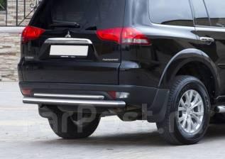 Защита бампера. Mitsubishi Pajero Sport, KH0 Двигатели: 4D56, 4M41, 6B31. Под заказ