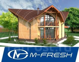 M-fresh OKO Plus! (М-фреш Око из Владивостока! Острая крыша). 200-300 кв. м., 2 этажа, 6 комнат, бетон