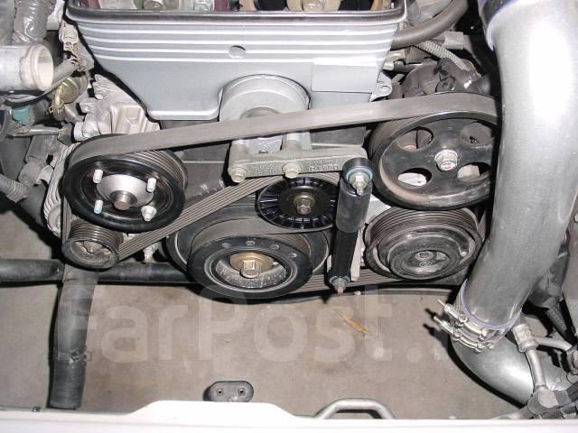 Натяжитель ремня. Lexus IS300, JCE10 Toyota Supra, JZA80 Двигатели: 2JZGE, 2JZGTE