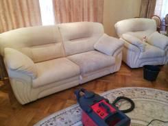 Химчистка п-образного дивана от 2 000 руб.