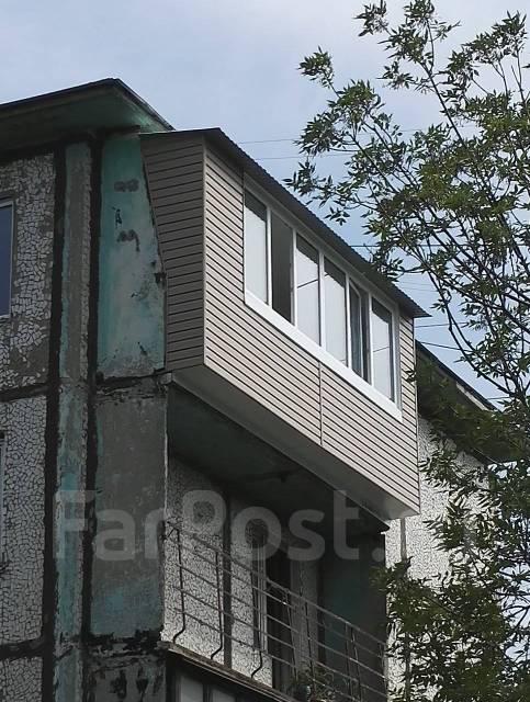 """Расширение, Остекление, Отделка балконов и лоджий. Балкон """"под ключ""""."""