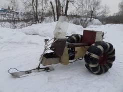 Самодельная модель. Продаётся самодельный снегоход, 1 500куб. см., 500кг.