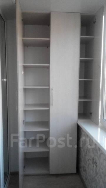 встроенный шкаф на балкон мебель во владивостоке