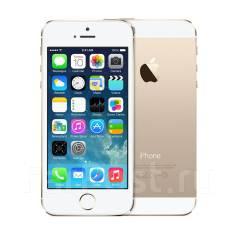 Apple iPhone 5s. Б/у, 64 Гб, Желтый, Золотой