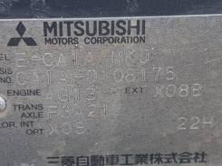 Mitsubishi Mirage. CA1A, 4G15