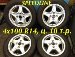 Speedline. 5.5x14, 4x100.00, ET45