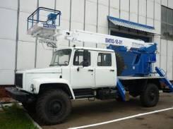 Випо-18. Автогидроподъемник ВИПО-18-01 на шасси ГАЗ-33081, 4 750куб. см., 18,00м.
