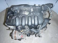 Двигатель (ДВС) 1.6i 16v 110лс HR16 Nissan Note