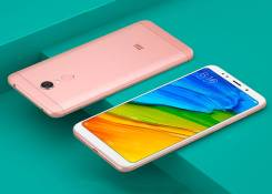 Xiaomi Redmi 5 Plus. Новый, 32 Гб, Розовый, 3G, 4G LTE, Dual-SIM