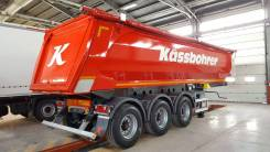 Kassbohrer. DL самосвальный полуприцеп 27 м3