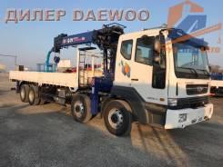 Daewoo Novus. 19.5 тонн с манипулятором DY2725 - 2017, 10 964куб. см., 20 000кг., 8x4. Под заказ