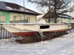 Волга. 1976 год год, длина 8,50м., двигатель стационарный, 76,00л.с., бензин