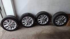 Комплект Диски КиК КС658 Сильвер + резина Bridgestone Turanza T001. 6.5x16 5x114.30 ET45 ЦО 60,1мм.