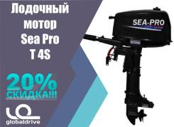 Sea-Pro. 4,00л.с., 2-тактный, бензиновый, нога S (381 мм), 2018 год год