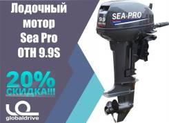 Sea-Pro. 9,90л.с., 2-тактный, бензиновый, нога S (381 мм), Год: 2018 год