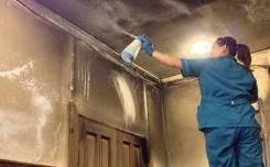 Удаляем запах после пожара от 300 руб. /кв. м