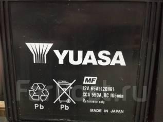 Yuasa. 65 А.ч., Прямая (правое), производство Япония