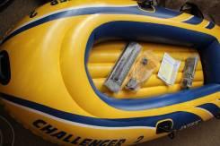 Intex Challenger. Год: 2017 год, длина 2,36м., двигатель без двигателя