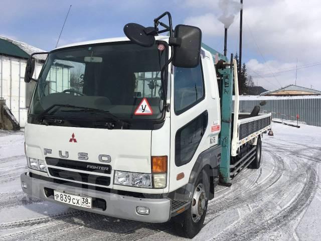 Mitsubishi Fuso. Продается Mitsubishi-FUSO эвакуатор 2002г., 8 200 куб. см., 5 000 кг.
