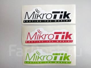 Продам наклейки MikroTik