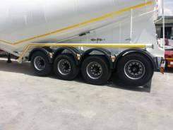Dogan Yildiz. Цементовоз 35 кубов, 2018 г., 4 оси, Без перевеса даже с тягачом 4х2, 45 000 кг. Под заказ