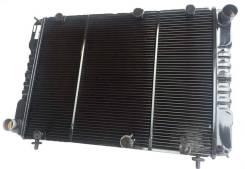 Радиатор ГАЗ 3110, 31105, теплоотдача +15% к требованию ОАО ГАЗ, медный, 2-х рядный Оренбург