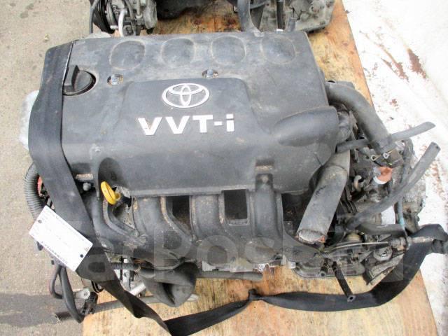 Двигатель в сборе. Toyota: Platz, ist, Vitz, Porte, WiLL Vi, WiLL Cypha, Corolla, Probox, Funcargo, bB Двигатель 2NZFE