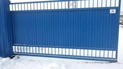 Изготовление металлических ворот и заборов