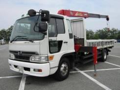 Hino Ranger. 6шпилек с манипулятором, 7 960 куб. см., 5 000 кг. Под заказ