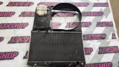 Радиатор охлаждения двигателя. Toyota Mark II, GX100, GX105, GX110, GX115, GX60, GX60G, GX61, GX70, GX70G, GX71, GX81, GX90, JZX100, JZX101, JZX105, J...