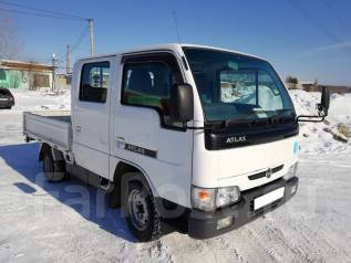 Nissan Atlas. Двухкабинный грузовик 2006г в Ангарске, 2 000 куб. см., 1 250 кг.