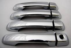 Накладки на ручки дверей Toyota LC Prado 150 (09-) Pgs HC-023