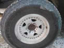 """Продам колеса 265/70/16 липучка на литье. 7.0x16"""" 6x139.70 ET20 ЦО 110,0мм."""