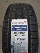 Kumho Crugen HP91. Летние, 2017 год, без износа, 4 шт