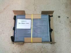 Радиатор охлаждения двигателя. Renault Logan Лада Ларгус Двигатели: D4F, K4M, K7J, K7M