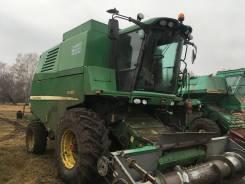 John Deere. Комбайн зерноуборочный JohnDeere W330