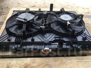 Вентилятор охлаждения радиатора. Nissan X-Trail, T31, T31P, T31R, TNT31 Двигатели: M9R, MR20DE, QR25DE