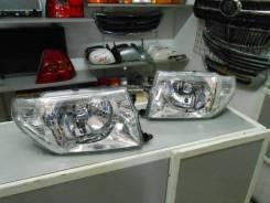 Фара. Mitsubishi Pajero iO, H61W, H62W, H66W, H67W, H71W, H72W, H76W, H77W Двигатели: 4G93, 4G94