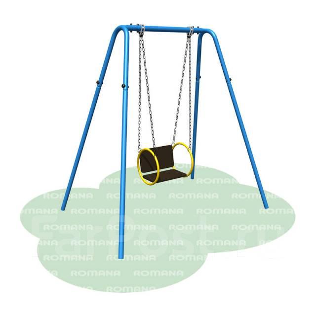 Качели одинарные (цепная подвеска)