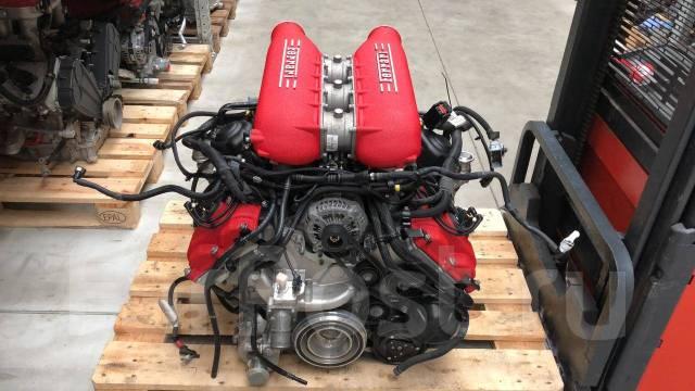 Новый двигатель 4.5 на Ferrari 458 Italia