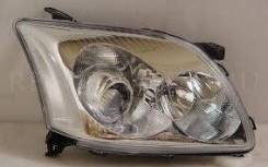 Фара. Toyota Avensis, ADT251, AZT250, AZT250L, AZT250W, AZT251, AZT251W, AZT255, AZT255W, CDT250, ZZT251, ZZT251L Двигатели: 1AZFE, 1AZFSE, 1CDFTV, 1Z...
