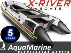 X-River Grace 380. Год: 2017 год, длина 3,80м., двигатель подвесной, 25,00л.с., бензин