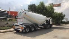 Nursan. Полуприцеп цементовоз сталь 35 м3. Под заказ
