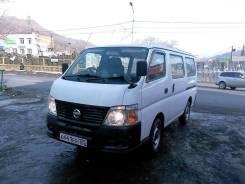 Nissan Caravan. Без водителя