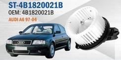 Мотор печки. Audi A6 allroad quattro, 4BH Audi RS6, 4B4, 4B6 Audi S6, 4B2, 4B4, 4B5, 4B6 Audi A6, 4B2, 4B4, 4B5, 4B6 Двигатели: AKE, APB, ARE, BAS, BA...