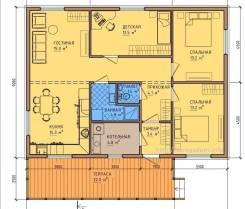 Строительство каменный Одно этажное дома под ключ за 3.500.000