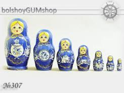 Матрешка российская (оригинал) 7 предметов 85х155 - suv-7-307
