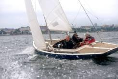 Классическая парусная яхта класса Дракон. Длина 8,90м., Год: 1988 год