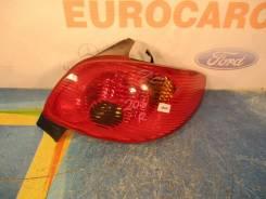 Стоп-сигнал. Peugeot 206, 2A/C, 2D, 2E/K Двигатели: DV4TD, DW10TD, EW10J4, TU1JP, TU3A, TU3JP, TU5JP4